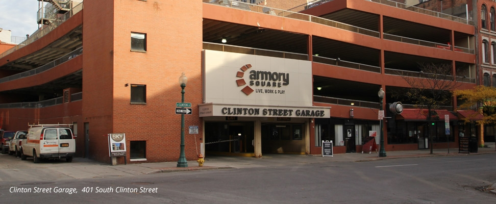 Clinton Street Garage, 401 South Clinton Street Syracuse